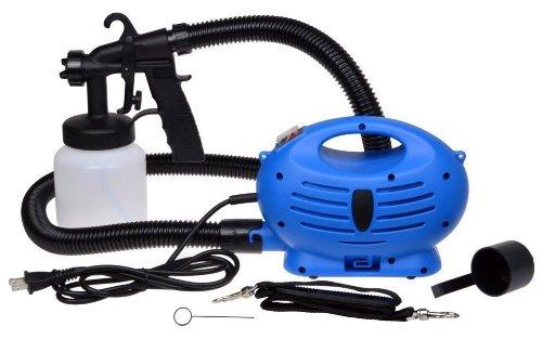 650W HVLP Paint Sprayer 3-ways Spray Gun Professional Zoom Painting Sprayer