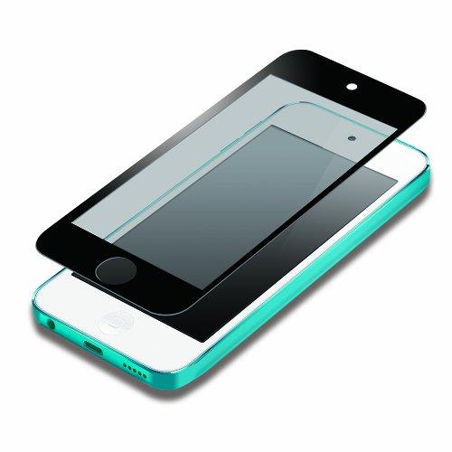 PGA iPod touch 第5世代 液晶保護フィルム 気泡ZERO指紋防止タイプ ブラック PG-IPTO5ZRAGBK