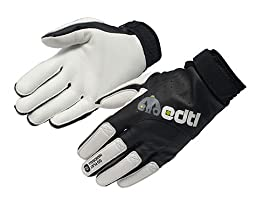 S14 Court Combat Handball Gloves, BLack (X-Large)