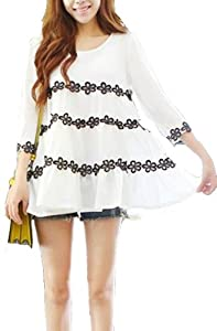 Autumn Leisure Embroidered Flowers capri Sleeve Dress></a><br /> </p> <p><a href=