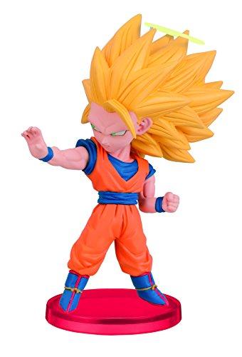 Banpresto Dragon Ball Z 2.8-Inch Goku World Collectible Figure, VS Majin Boo Collection
