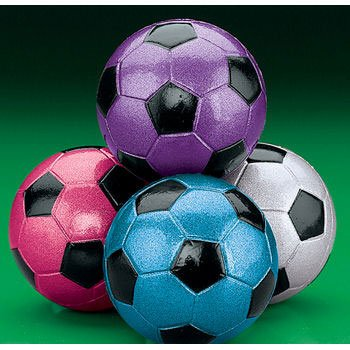 Metallic Soccer Ball Handballs