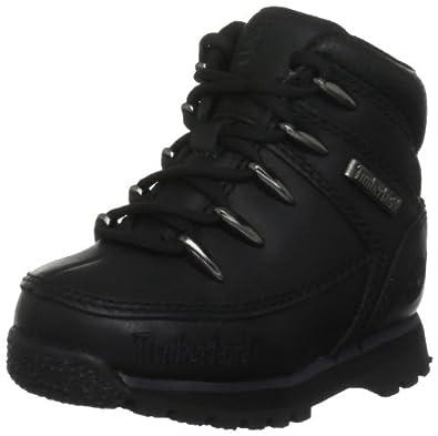 Timberland Euro Sprint, Chaussures montantes mixte enfant - Noir (Black Smooth), 22 EU (5.5)
