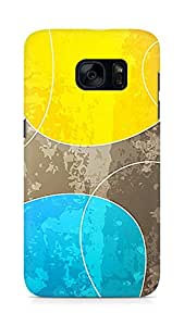 Amez designer printed 3d premium high quality back case cover for Samsung Galaxy S7 (Abstract Color)