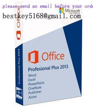 Genuine Office 2013 Pro Plus Key 32bit / 64bit
