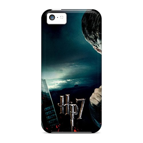 Hot Fhe7896Hatp Case Cover Protector For Iphone 5C- Harry Potter And The Deathly Hallows