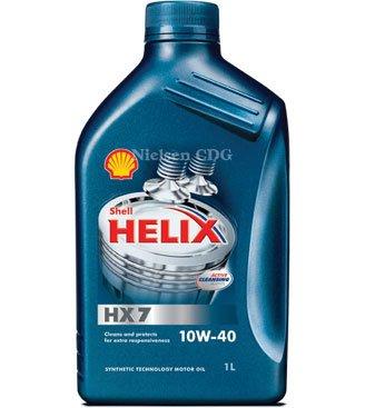 Shell Helix HX7 10W-40 Engine Oil SHE-091 - 1L