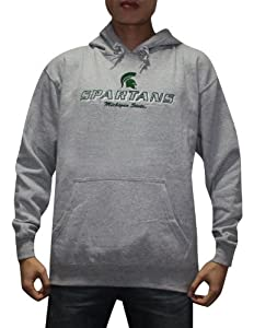 NCAA Michigan State Spartans Mens Warm Athletic Pullover Hoodie by NCAA