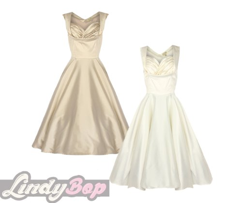 Lindy bop women s ophelia vintage 1950 s swing dress for Lindy bop wedding dress