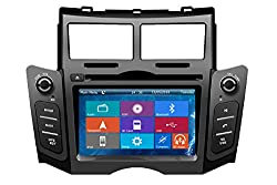 See Crusade Double Din 6.2 Inch for Toyota Yaris 2007-2011 in Dash Hd Touch Screen Car DVD Player Support 3g,1080p,iphone 6s/5s,external Mic,usb/sd/gps/fm/am Radio 6.2 Inch Hd Touch Screen Stereo Navigation System+ Reverse Car Rear Camara + Free Map Details