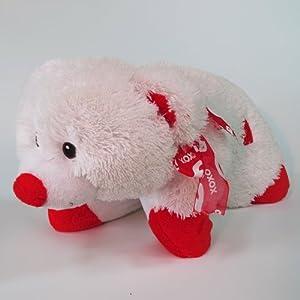 "Plushez ""I Love You"" Bear with Ribbon Pillow Pet"