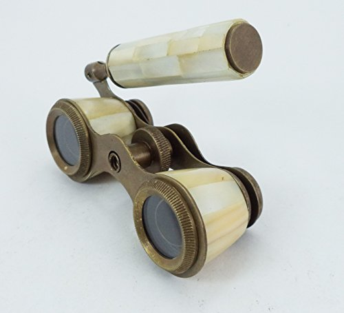 Antique Opera Glasses Binocular From Mother Of Pearls Monocular Vintage Gift