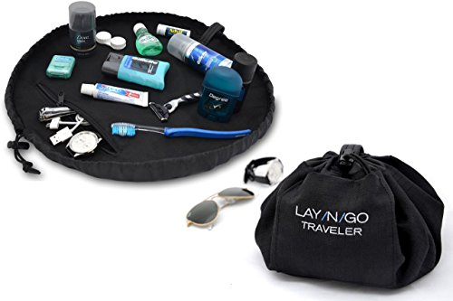 Layngo TRAVELER Dopp Kit, Black