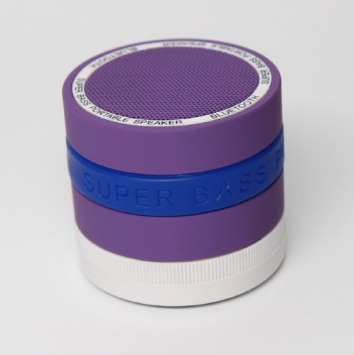 Valuepad Portable Mini Bluetooth Wireless Speaker With Super Bass (Purple)