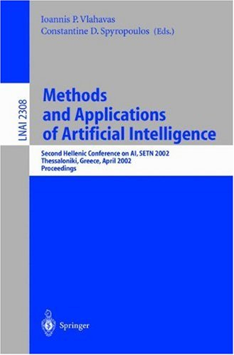 Methods and Applications of Artificial Intelligence: Second Hellenic Conference on AI, SETN 2002. Thessaloniki, Greece, April 11-12, 2002. Proceedings
