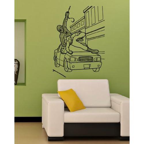 Spiderman Baby Kids Room Nursery Wall Vinyl Sticker Decals Art Mural M118