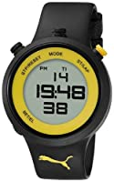 PUMA Men's PU910901006 Go Digital Black Yellow Watch from PUMA