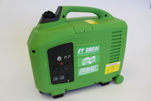 Everlast Ev2800I Watt W Pure Sine Wave Inverter Generator Portable Rv With Electric Start