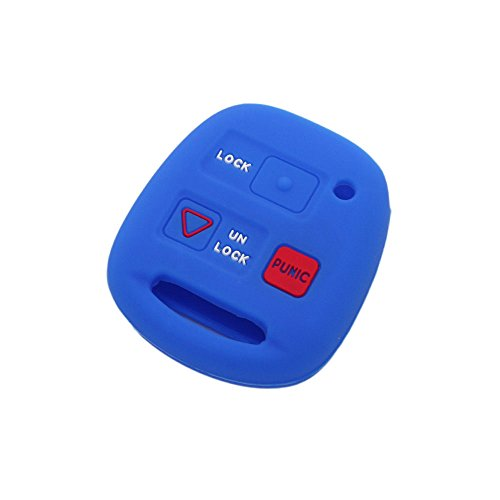 fassport-silicone-cover-skin-jacket-fit-for-lexus-3-button-remote-key-cv4451-deep-blue