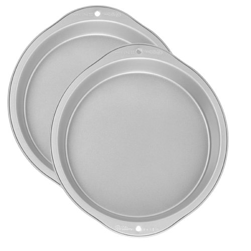 Wilton Recipe Right 2 Piece 9 Inch Round Pan Set at Amazon.com