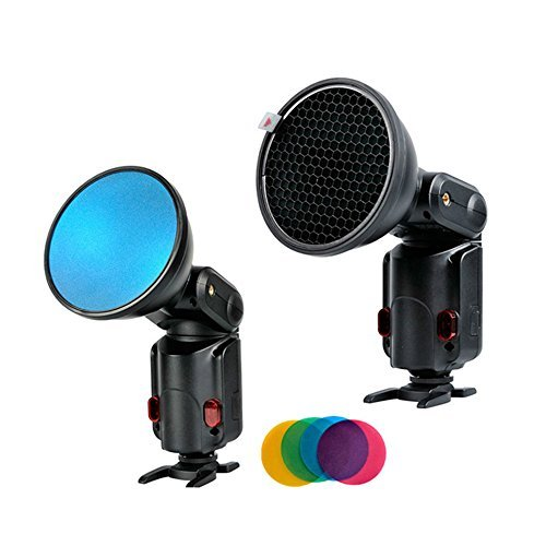 Godox Ad-s11 Witstro Flash Speedlite Accessories Godox Neewer Ad180 Ad360 Filter with for Color (Red, Blue, Green, Yellow)