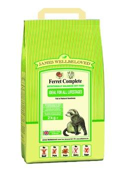 James Wellbeloved Ferret Complete Ferret Food 2kg