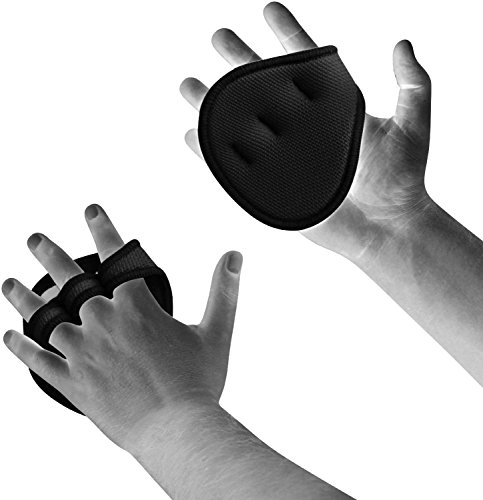 Neoprene Weight Lift Training Workout Gym Palm Exercise: RDX Neoprene Gym Weight Lifting Grips Crossfit Pull Up