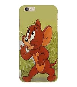 ColourCraft Funny Rat Design Back Case Cover for APPLE IPHONE 6S PLUS