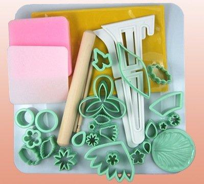 Kit per realizzare fiori in pasta di gomma Cake design