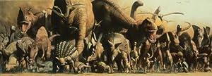 Safari Ltd. Dinosaur - Laminated Rolled and Tubed Poster