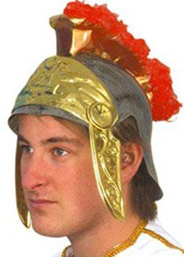 Warrior Kostüm Gruppe Partys Herren Körperschutz Erwachsene Römer Helm Oder Schild - Helm, Einheitsgröße