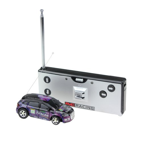 Meiego Rc Radio Remote Control Micro Racing Car 1:63 Scale Super Racing With Led Lights