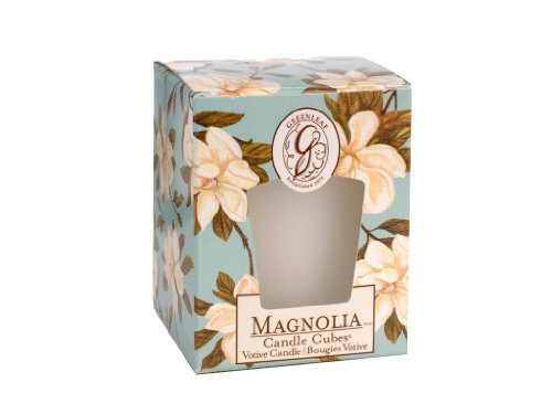 Greenleaf Home fragrance Candle Cube Votive - Add a refreshing smell to your home (Pier One Air Freshener compare prices)