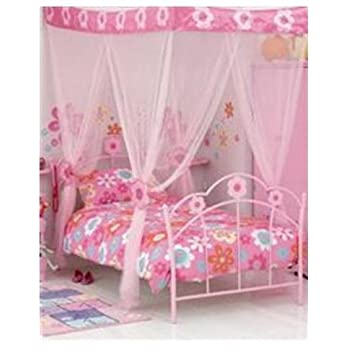 pas cher voile d coration moustiquaire anti moustiques pour lit enfant flower princesse. Black Bedroom Furniture Sets. Home Design Ideas
