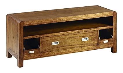 Moycor Flash - Mueble para TV, 3 cajones, 1 hueco, 115 x 40 x 47 cm