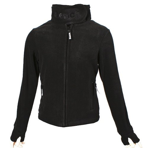 BENCH Core Funnel Neck Fleecejacke black, Größe:152 cm 11/12 years