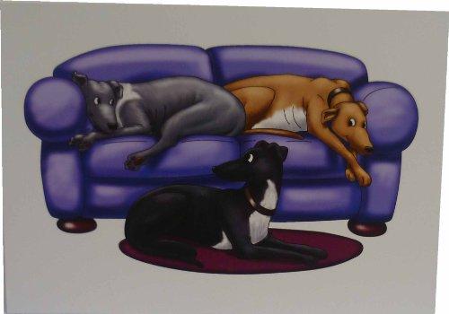 greyhounds-canape-cartes-lot-de-10