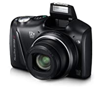 Canon PowerShot SX150 IS 14.1 MP Digital Camera with 12x Wide-Angle Optical Image Stabilized Zoom with 3.0-Inch LCD (Black)