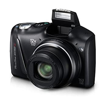 Set A Shopping Price Drop Alert For Canon PowerShot SX150 IS 14.1 MP Digital Camera with 12x Wide-Angle Optical Image Stabilized Zoom with 3.0-Inch LCD (Black)