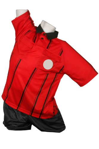 Kwik Goal Premier Referee Jersey, Red, Medium Picture