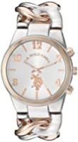 U.S. Polo Assn. Women's Quartz Two Tone Casual Watch (Model: USC40176)