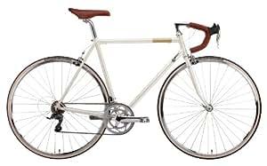 creme retro rennrad echo solo 16 speed white 60 5 bi cre 4101 sport freizeit. Black Bedroom Furniture Sets. Home Design Ideas