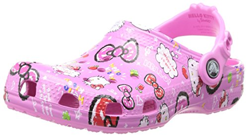 crocs 15282 Hello Kitty Good Times Clog,Petal Pink,10 M US Toddler