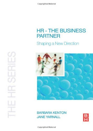 Hr - The Business Partner (The Hr Series)