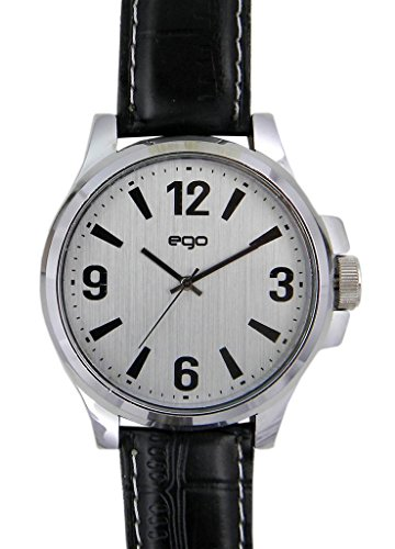 Maxima Ego Collection Analog Silver Dial Men's Watch - E-00949LAGC