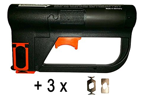 Aris Wallpaper Cutter Basic incl. (3 x Spare Blades Value Pack) foxfix