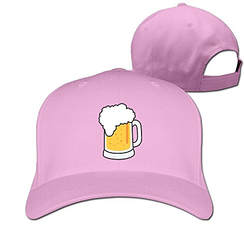 xssyz-unisex-i-love-beer-adjustable-baseball-caps-pink