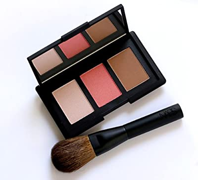 NARS The Narsissist Cheek Kit - Blush Orgasm, Bronzing Powder Laguna, Highlighting Blush Devotee, Blush Brush #20 Full Size In Retail Box