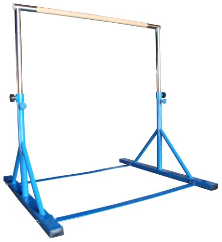 Backyard Gymnastics Bars : Athletic Gymnastics Expandable Junior Training Bar (Blue)