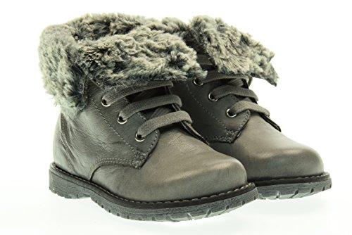 NERO GIARDINI JUNIOR boot con pelliccia A621930F/104 26 Grigio